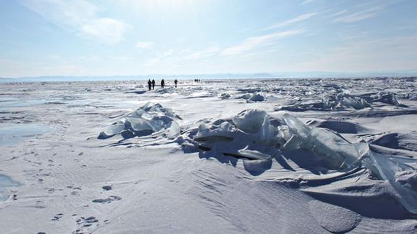Russland: Zu Fuß durch die Eiszeit