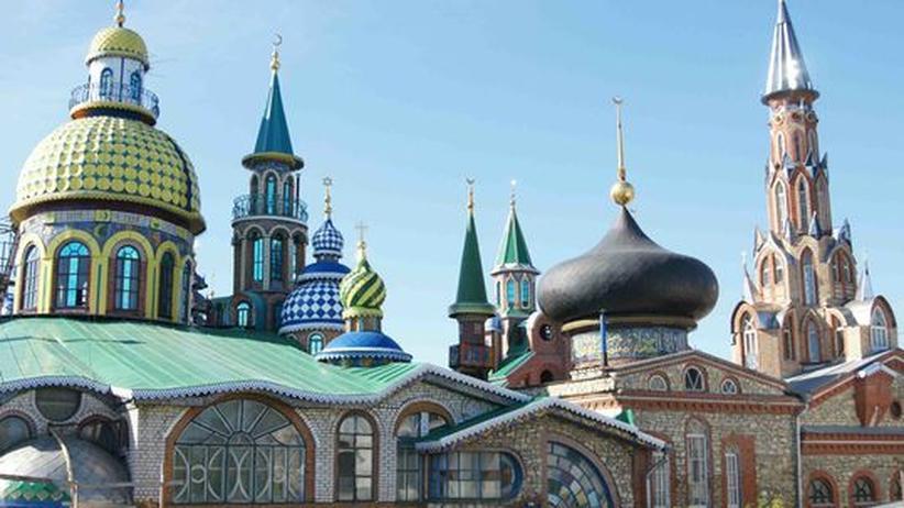 Sakralarchitektur: Der Hundertwasser von Tatarstan