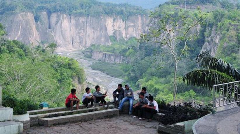 Sumatra: Der Sianok Canyon in Bukittinggi, Sumatra