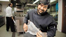 Henrique Mouro spielt in seinem Restaurant Assinatura mit Zutaten wie dem Klippfisch.