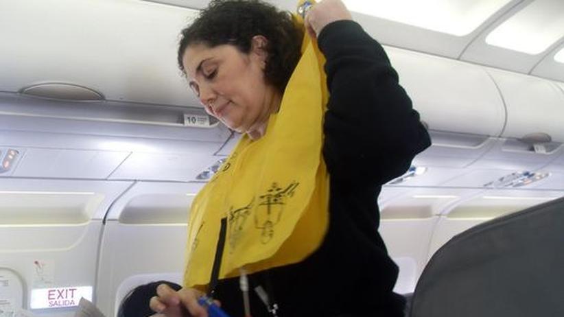 Flugsicherheit: Rette sich, wer kann