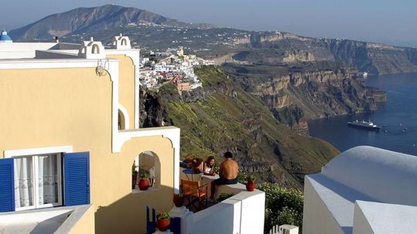 Tourismus: Reise-Buchungen für Griechenland eingebrochen