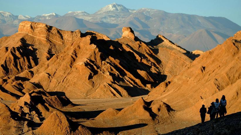 Südamerika: Im chilenischen Sande verlaufen