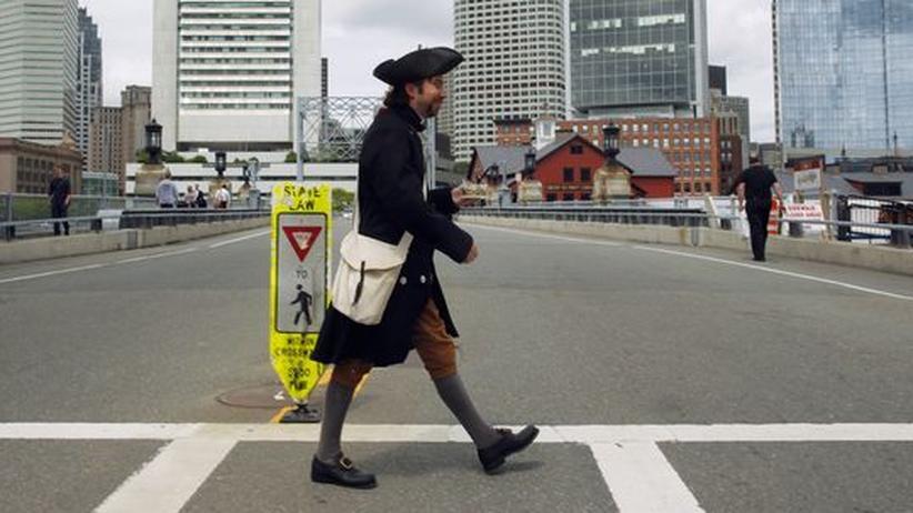 Boston: Aufwiegeln und Tee trinken