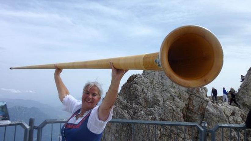 Alphorn spielen: Volle Backe Bergmusik