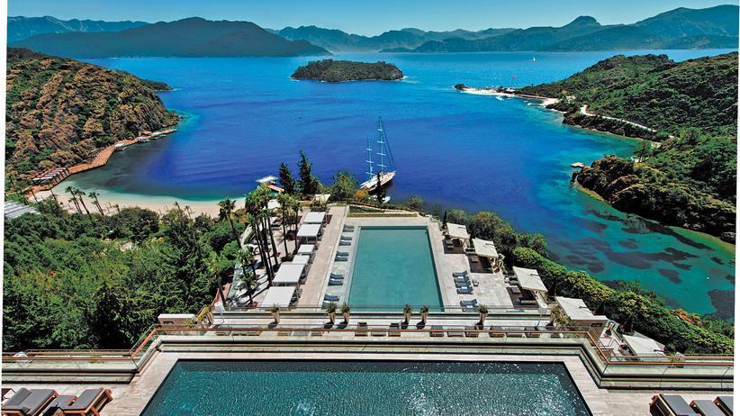 Hoteltest: Stille Strände an der türkischen Ägäis