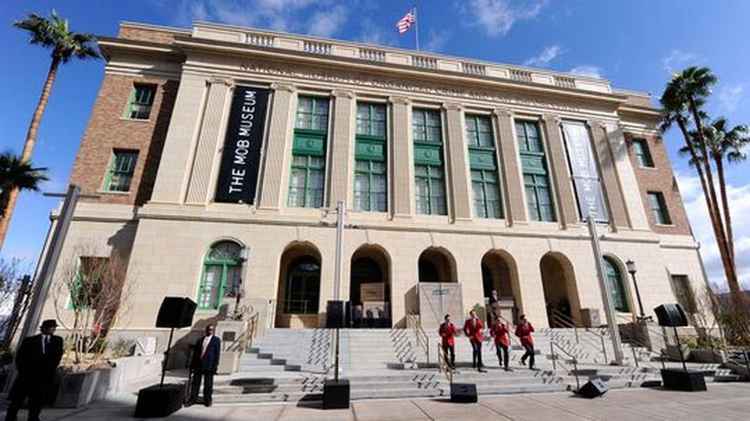 Zur Eröffnung des Mob Museums spielte die Band The Jersey Boys.