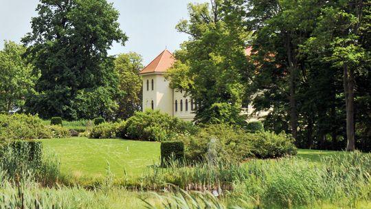 Der Hausherr hat die Gärten von Marihn selbst gestaltet.