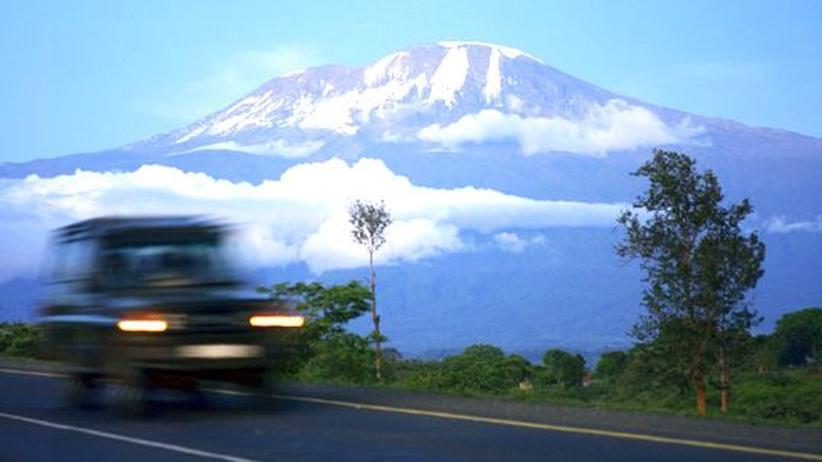 Tansania : Kalte Füße auf dem Kilimandscharo