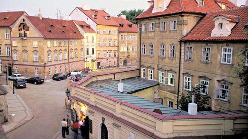 Die Kampa-Halbinsel ist einer der Prager Rückzugsorte mitten in der Stadt.