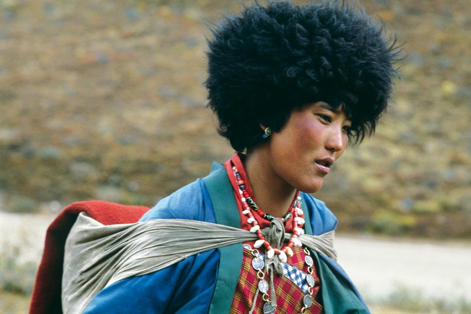 Frau aus dem Dorf Choeso, 1992