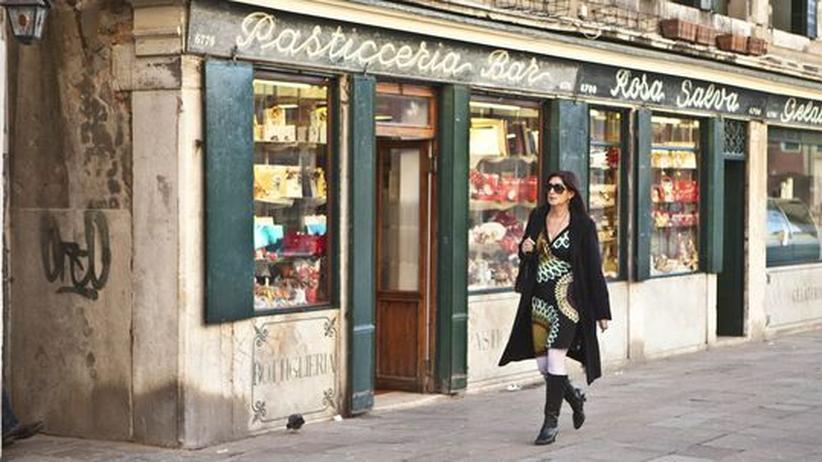 City Guide Venedig: Die Bar Rosa Salva in Castello: Hier trinkt Donna Leon ihren Kaffee am liebsten
