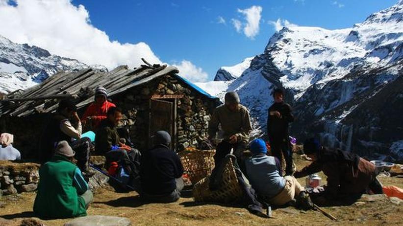 Trekkingtour: Eiskalter Höhenrausch