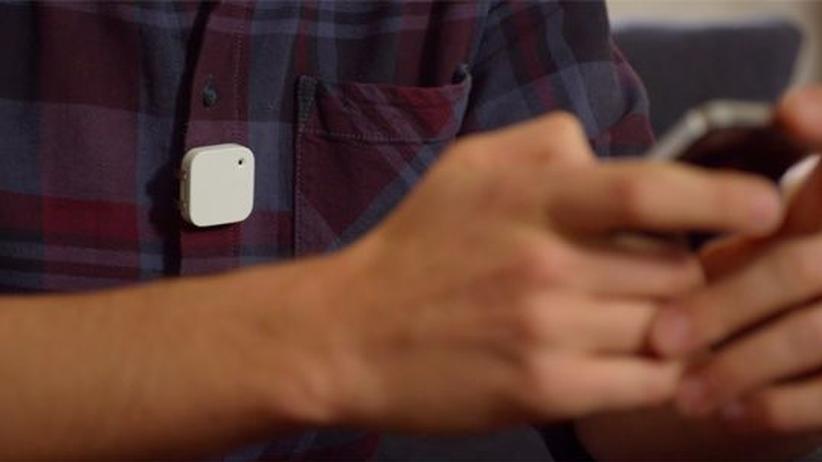Memoto-Kamera: Vor laufender Kamera