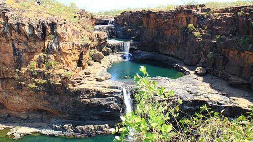 Die Mitchell Falls im australischen Outback