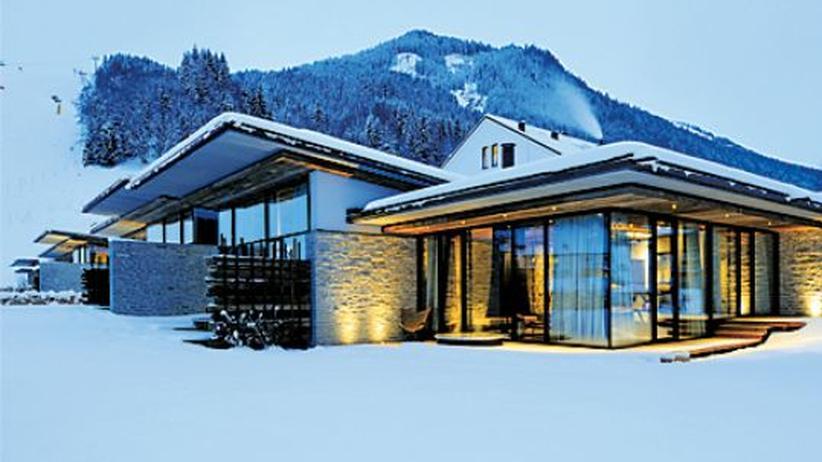 Hotel im Pinzgau : Hinter den sieben Bergen