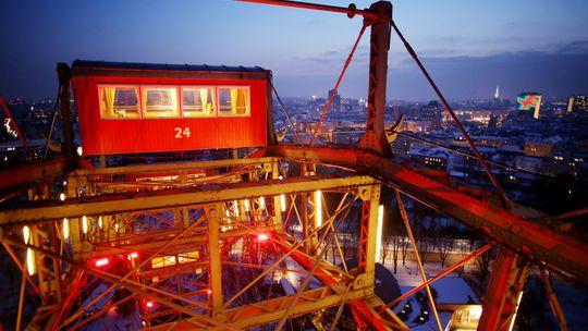 Blick vom Riesenrad im Wiener Prater