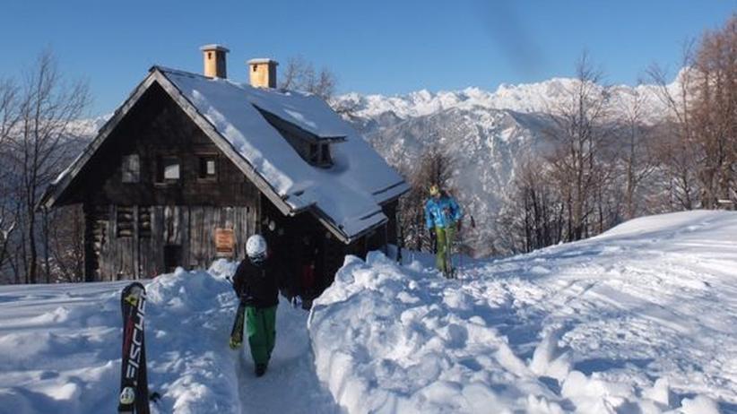 Skisport in Slowenien: Gleich vor der Haustür in die Loipe fallen