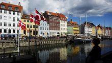 Ein Kanal in Kopenhagen