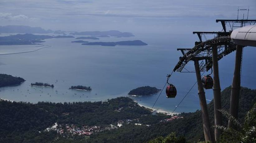 Sightseeing-Seilbahn in Langkawi