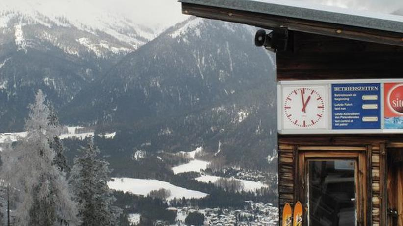 Tirol Mieminger Plateau Skilift