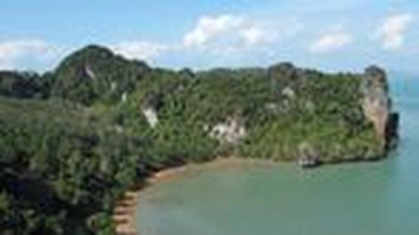 Thailand: Klettern über der Andamanensee