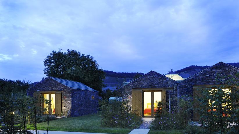 Hotel bei Trier: Schlafen im Schuppen