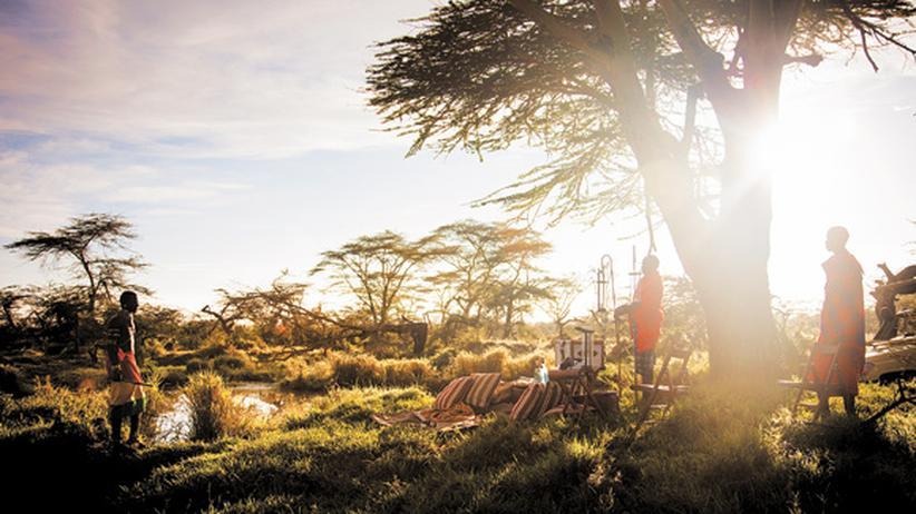 Walking-Safari : Aufrechter Tourismus in Kenia