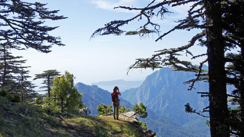 Türkei: Viel Weitblick im Taurusgebirge oberhalb der Bucht von Kemer