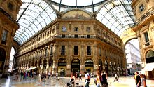 MILAN, ITALY - JULY 31:  A general view of Galleria Vittorio Emanuele on July 31, 2008 in Milan, Italy.  (Photo by Vittorio Zunino Celotto/Getty Images)
