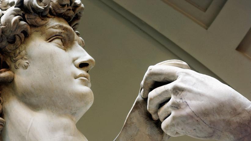 Michelangelos Meisterwerk David twittert als @eldavidOficial