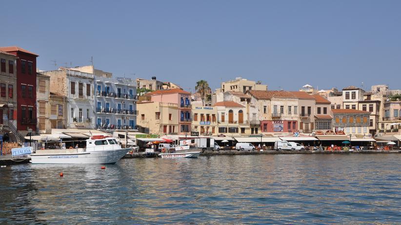 Kreta: Der alte Hafen von Chania auf Kreta
