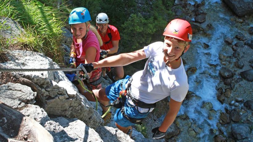 Klettersteig Für Kinder : Klettersteig beschreibung mittelrhein