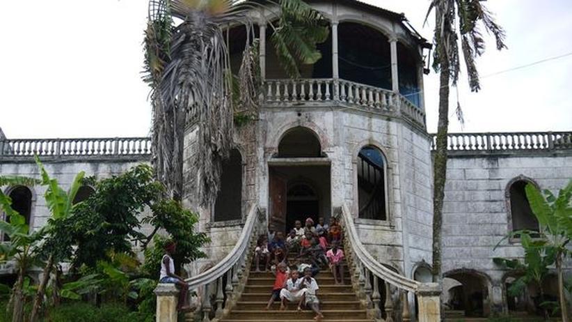 Kolonialgebäude auf São Tomé