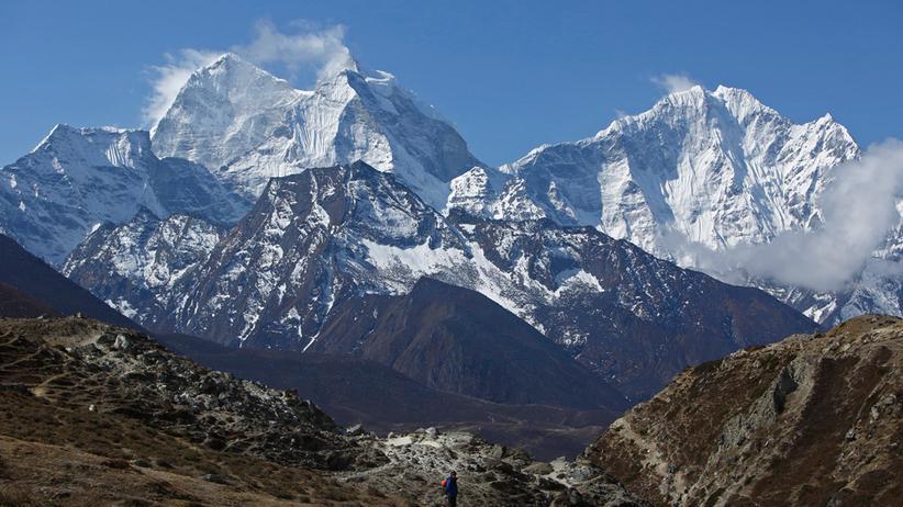 Mount-Everest-Tourismus: Basiscamp ohne Bergtouristen