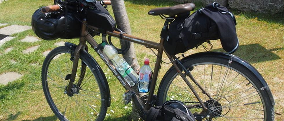 Koffer packen, Reisegepäck, Manuel Christa, Fahrrad