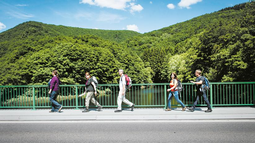 Luxemburg, Wandern mit Manuel Andrack