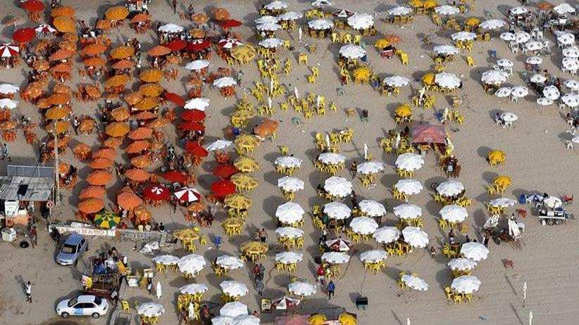 Recife: Am Strand von Boa Viagem