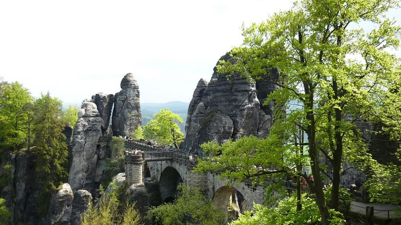 Elbsandsteingebirge: Wandern mit Vater