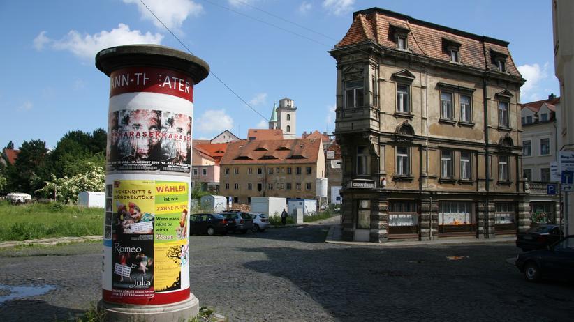 Zittau in der Oberlausitz, liegt das nicht in Polen?