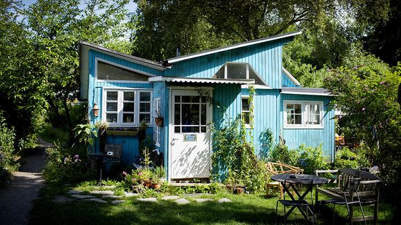 Licht, Luft und Sonne: Recycling-Haus in Christiania
