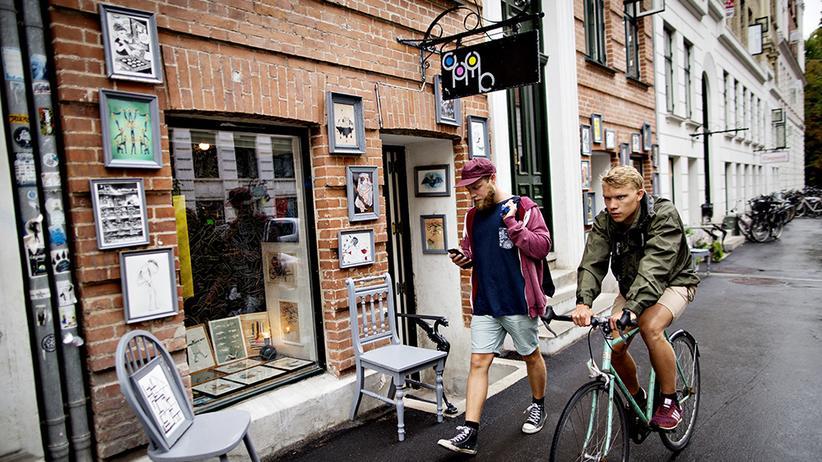 Kopenhagen: Nachmittag in der Jægersborggade