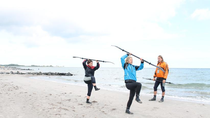 Ostsee: Ich bin ein Teebeutel