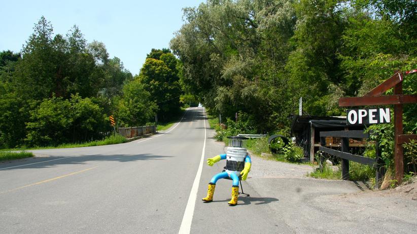 Roboter: Per Anhalter durch Kanada