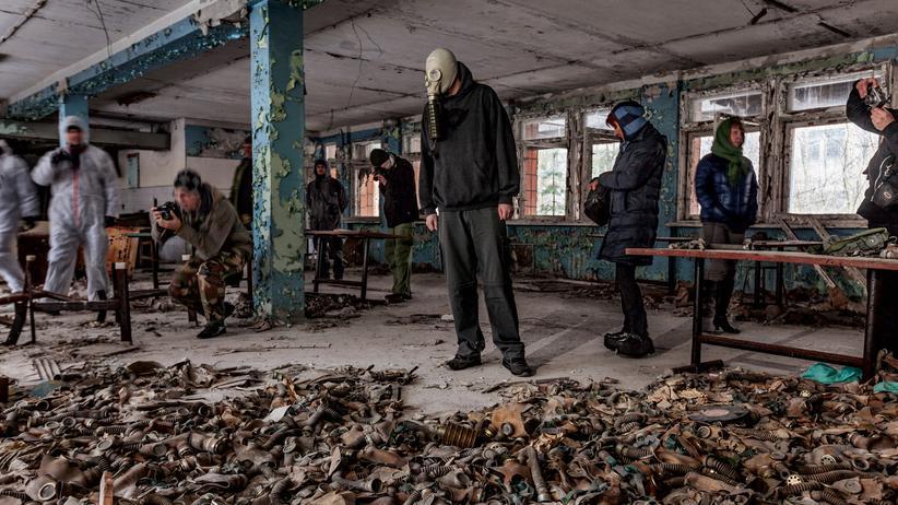 Tschernobyl: Wir blieben nur eine Minute