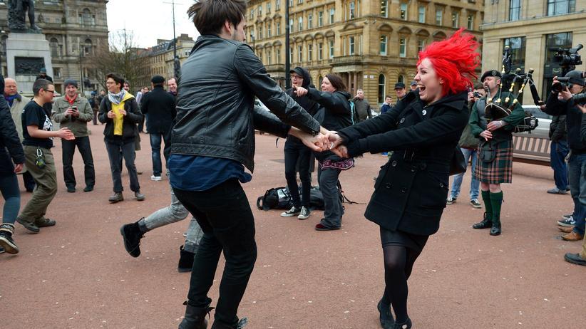 Glasgow: Ich bin eine Band aus Schottland
