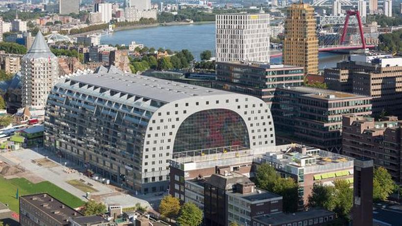 Markthalle Rotterdam Die Patina Fehlt Noch Zeit Online