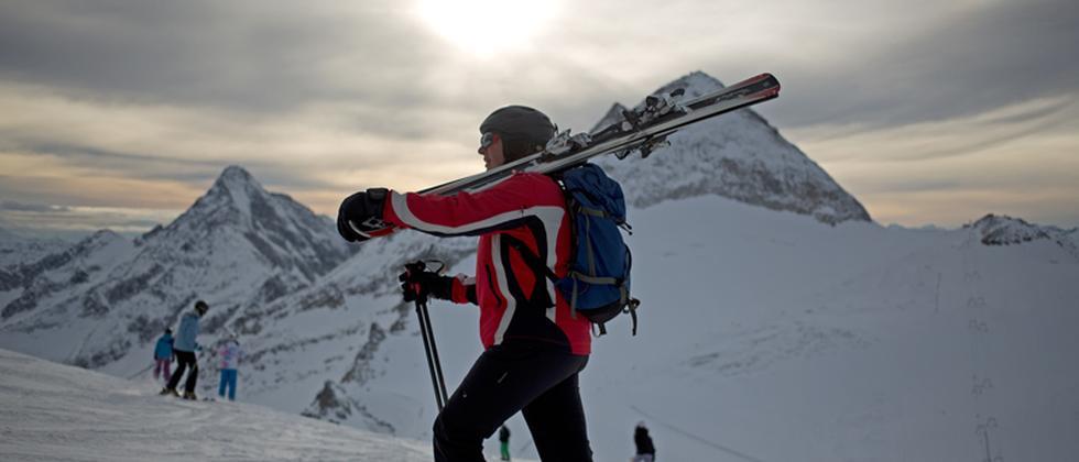 Wintersport Österreich Skigebiet
