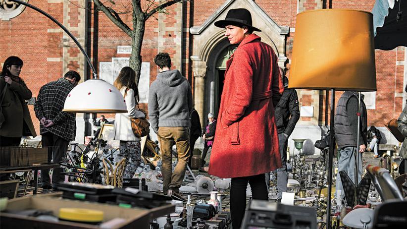 Den Flohmarkt auf der Place du Jeu de Balle gibt es seit 1873