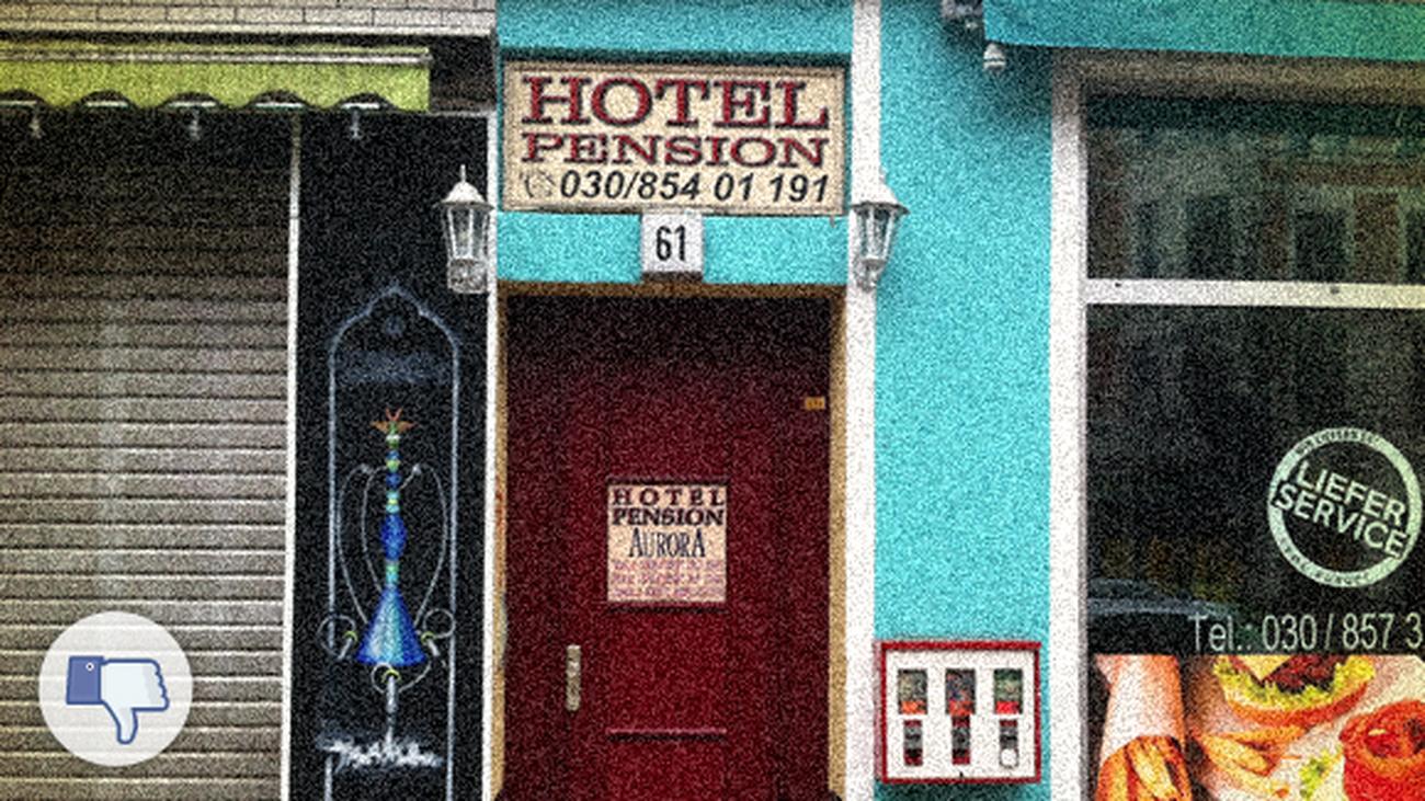 Rezeptionistin Im Hotel Pension